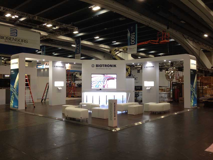 large scale exhibition stand