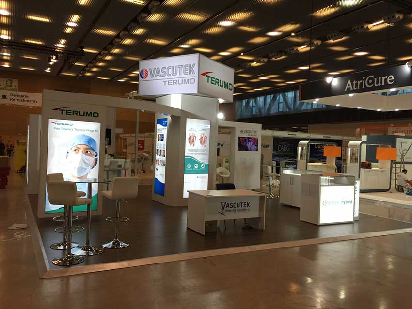 medical exhibition display stand