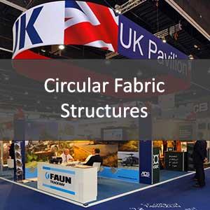 circular fabric structures